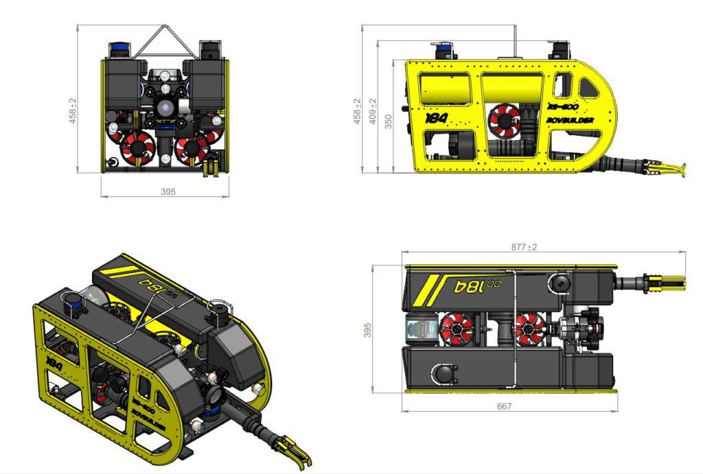 Rovbuilder ROV RB-600D